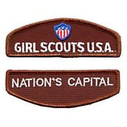 Brownie Girl Scout Council Identification Strip - California Central Coast Id