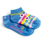 Daisy Low-Cut Flower Stripe Sock Pack
