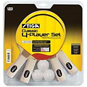 Rec. 4 Player Table Tennis Set
