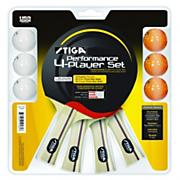 Performance 4 player Table Tennis Set