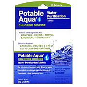 Potable Aqua Chlorine-Dioxide Tablets