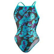 Women's Graphic Daisy Flyback 1 Piece - Pattern