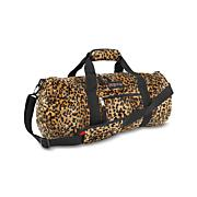 Zebra Plush Reversible Duffle bag