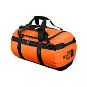 Base Camp Medium Duffel Bag - Oriole Orange / Black