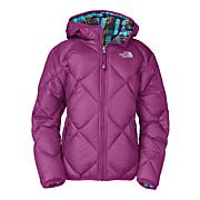 Girls' Reversible Down Moondoggy Jacket - Purple