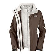 Women's Boundary Triclimate Jacket - Brown