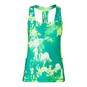 Women's Tadasana VPR Printed Performance Sport Tank - Green