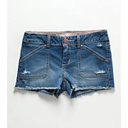 Girls' Tonie Denim Short - Denim Blue