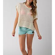 Women's Channing Short Sleeve Sweater - Cream