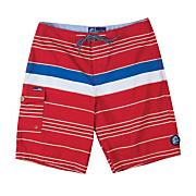 Men's Mar Boardshort - Red