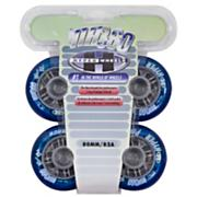 NX360 80mm Inline Skate Wheels - Blue - 4pk