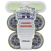 NX360 78mm Inline Skate Wheels - Clear - 4pk