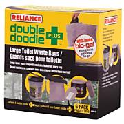 Double Doodie PLUS Toilet Waste Bags