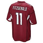 Youth Cardinals Fitzgerald Replica Home Jersey - Red
