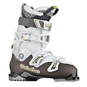 Women's Quest Access 60 Ski Boot - Chocolate/ White (2012)