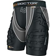 Velocity ShockSkin 5-Pad Football Shorts - Black