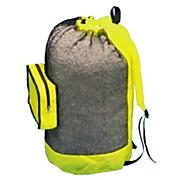 Unisex Mesh Back Pack With Pocket