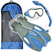 Youth Coral Pflex Set  - Blue