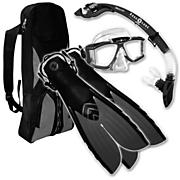 Sideview LX Snorkeling Set - Black