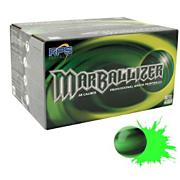 Marballizer Paintballs - Black/Green (2000 Count)
