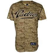 Men's Padres Replica Digital Camo Jersey - Green Patterned