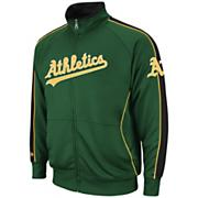 Men's Athletics Profector Track Jacket - Dark Green /  Moss