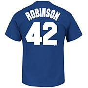 Men's Dodgers Robinson Tee - Blue