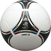 Euro 2012 OMB Soccer Ball – White/Black