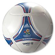 Euro 2012 Glider Soccer Ball – White/Blue/Orange