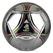 Euro 2012 Soccer Ball – Metallic Silver/Black/Electricity