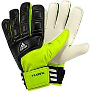 adi Training Soccer Goalkeeper Gloves – Black/Slime