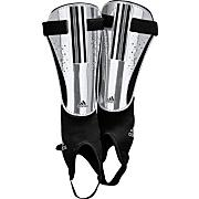 11Chrome Shin Guards – Metallic Silver/Black