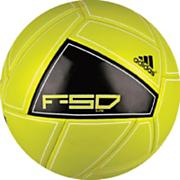 F50 X-ite Soccer Ball – Lime/Black