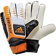 Predator Junior Soccer Goalie Glove – White/Black/Bright Gold