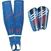Predator Pro Moldable Shin Guards - Blue
