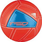 F50 X-ite Mini Soccer Ball – Infrared/Bright Blue/White