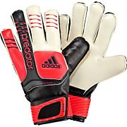 Predator FINGERSAVE™ Junior Soccer Gloves - White