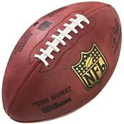 Official NFL Leather Game Ball