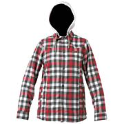 Women's Woodbury Flannel Shirt - White Patterned