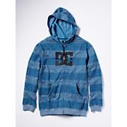 Boy's Rebel Stripe Fleece - Blue