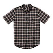Men's Eschaton Short Sleeve Woven Shirt - Black Patterned