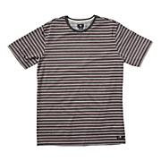 Men's Scripes Crew Tee - Black Patterned