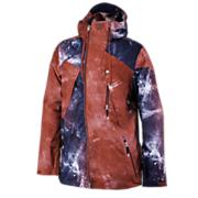 Men's C's Ripper Jacket - Red Patterned