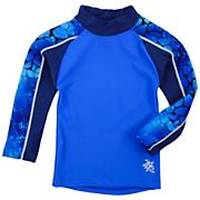 Boys' Long Sleeve Tube Shirt  - Blue