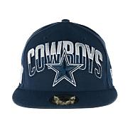 Men's Cowboys 59Fifty Draft 2013 Cap - Navy / Dark Blue