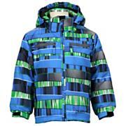 Boys' Dylan Jacket - Blue Patterned