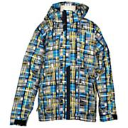 Boys' Concoction Jacket - Blue Patterned