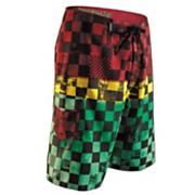 Boys' Off The Wall Boardshort - Pattern