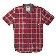Boys' Averill Short Sleeve Woven Shirt - Red Patterned