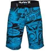 Boys' Griffin 2 Comic Boardshort - Blue Patterned